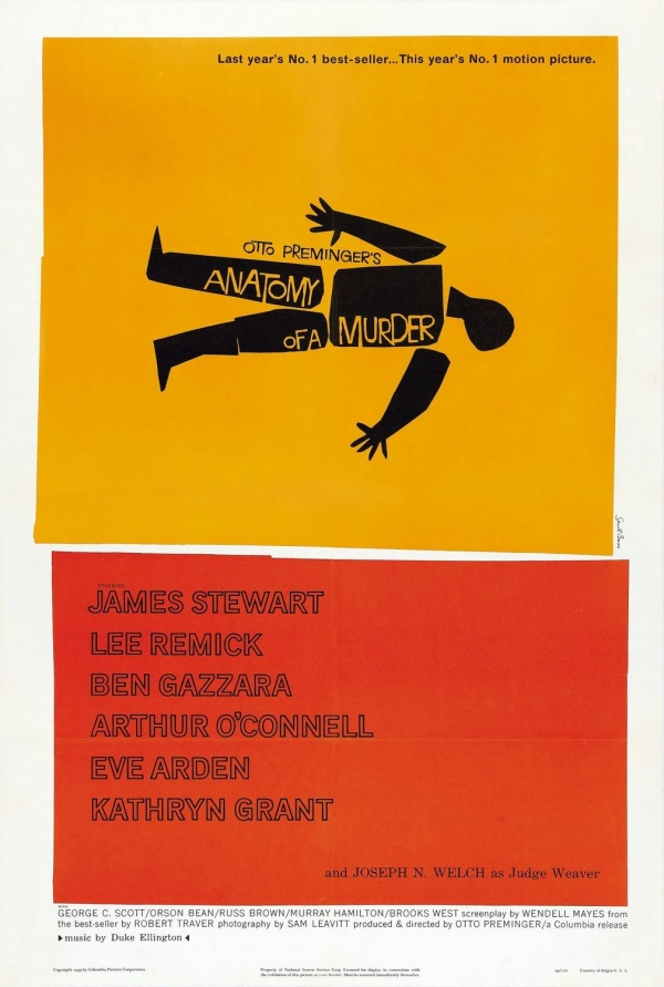 Anatomy of a Murder (1959) - Polish poster