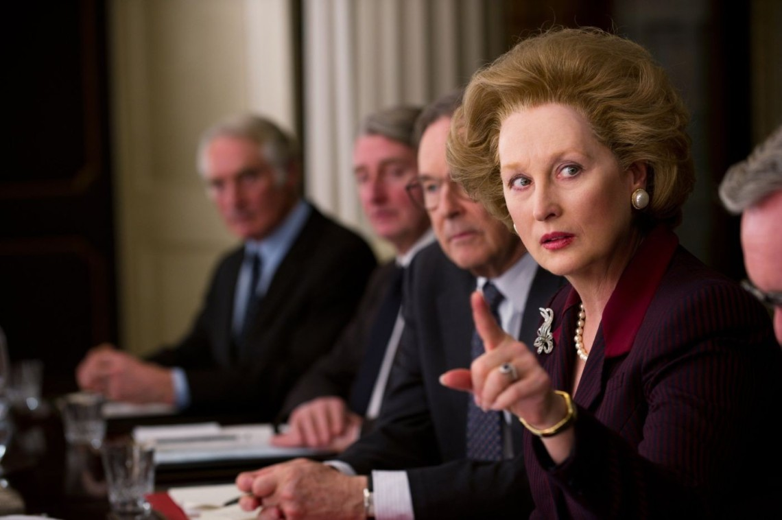 Meryll Streep as Margaret Thatcher