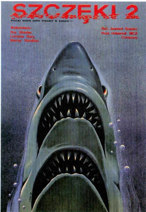 Jaws 2 (1978) - Polish poster