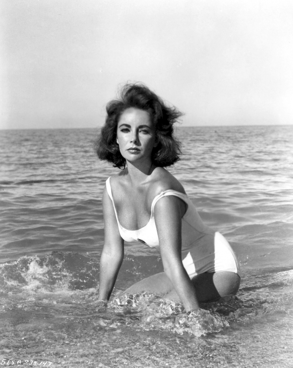 Elizabeth Taylor in SUDDENLY, LAST SUMMER, 1959.