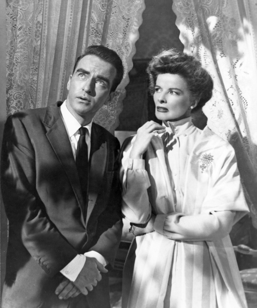 Montgomery Clift and Katharine Hepburn in SUDDENLY, LAST SUMMER, 1959.